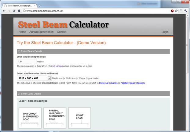 I Beam Section Properties Calculator